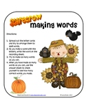 Scarecrow Making Words