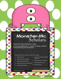 Scholarly Behaviors - Monster Theme