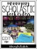 Scholastic Book Order Organization Binder Kit