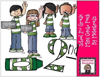 School 2nd mini combo pack by Melonheadz