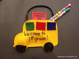 School Bus Pocket Craft Freebie by Teach-A-Roo