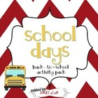 School Days Back to School Pack
