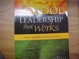 """School Leadership that Works: From Research to Results"""