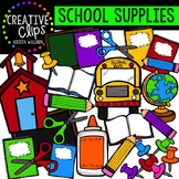 School Supplies {Creative Clips Digital Clipart}