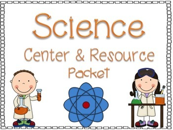 Science Center and Vocabulary Resource Packet