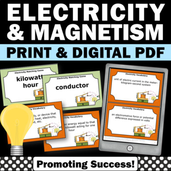 Electricity and Magnetism Physical Science Centers Games T