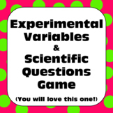 Scientific Method: Experimental Variables and Scientific Q