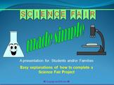 Science Fair Made Simple Powerpoint Presentation