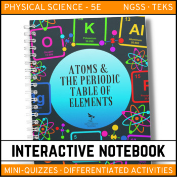 Science Interactive Notebook - Atoms and the Periodic Table of Elements