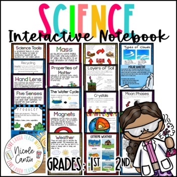 Science Interactive Notebook K-2nd