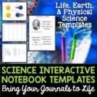 Science Interactive Notebook Templates - Sampler