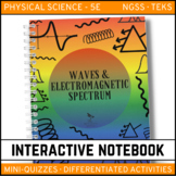 Science Interactive Notebook - Waves