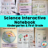 Science Interactive Notebook for Kindergarten & First Grade