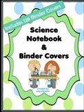 Science Skills Notebook Organization Set- 135 Binder Cover