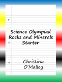 Science Olympiad Rocks and Minerals Starter