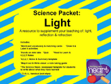 Science Packet: Light (Reflection & Refraction)