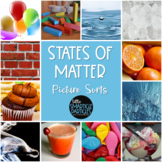 Science Picture Sorts: States of Matter