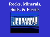 Science: Rocks, Minerals, Soils, and Fossils Trivia Game V
