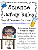 Science Safety Rules ~ Interactive Science Notebook Pack