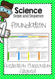 Science Scope and Sequence Foundation