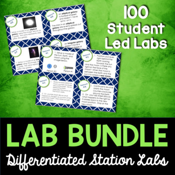 Science Station Lab Bundle - 68 Differentiated Science Labs