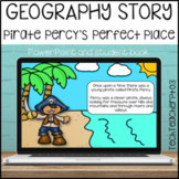 Geography Story - Pirate Percy's Perfect Place. Short stor