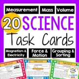 Science Task Cards - Hands on Practice with Science Tools