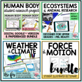 Science Illustrated Books Bundle~Student Activity Notebook