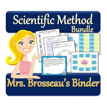 Scientific Method: A Scientific Inquiry Unit - Notes, Tasks Cards & MORE!