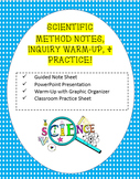 Scientific Method PowerPoint, Note Sheet, Inquiry Activity