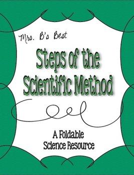 Scientific Method Steps Foldable