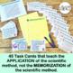 Scientific Method Task Cards, Grades 6-10, 30 Task cards