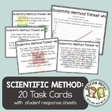 Scientific Method Task Cards Think Tickets for Science Exp