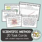 Scientific Method - Task Cards - Science Warm Ups & Exit Tickets
