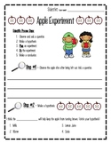 Scientific Process- Apple Experiment