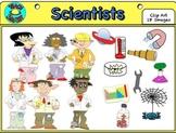 Scientists  (Clip Art)