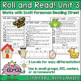 Scott Foresman Reading Street Roll & Read Fluency Practice Unit 3
