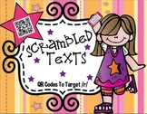 Scrambled Texts Articulation:  QR Codes for Speech Therapy