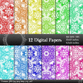 Scrapbook Lace Book Graphics Scrap Booking Decorative Clip