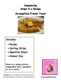 Scrumptious French Toast-Sequencing