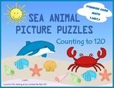 Sea Animals Math Puzzles