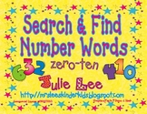 Search & Find Number Words