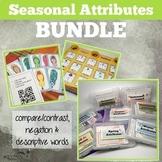 Seasonal Attributes Game BUNDLE: Compare/Contrast (include