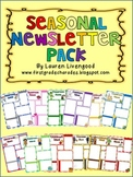 Seasonal Newsletter Pack - Editable