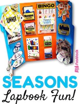 Seasons of the Year Lapbook File Folder Fun