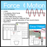 Science: Forces and Motion-Sound and Vibration