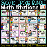 Second Grade Common Core Math Stations BUNDLE