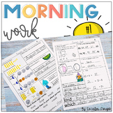 Second Grade *Common Core* Morning Work 1st Month of School