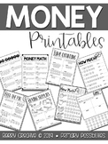 Money Printables {Second Grade}