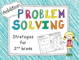 Second Grade Addition Problem Solving {Differentiated}